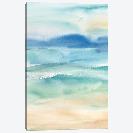 Abstract Seascape Canvas Print #CYN227} by Cynthia Coulter Canvas Artwork