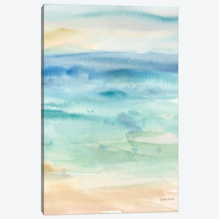 Abstract Seascape Canvas Print #CYN228} by Cynthia Coulter Canvas Art Print