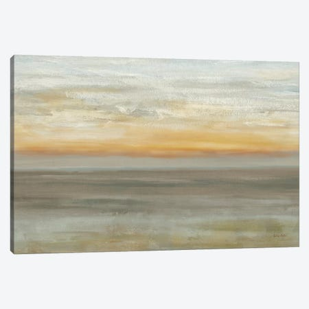Grey Horizon Canvas Print #CYN231} by Cynthia Coulter Canvas Artwork