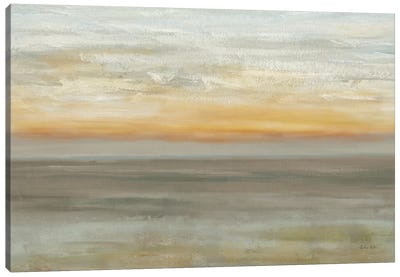 Grey Horizon Canvas Art Print