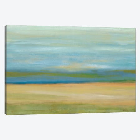 Horizon Field Canvas Print #CYN234} by Cynthia Coulter Canvas Art Print