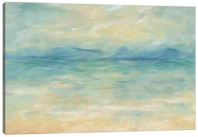 Ocean Reflections Landscape Canvas Art Print