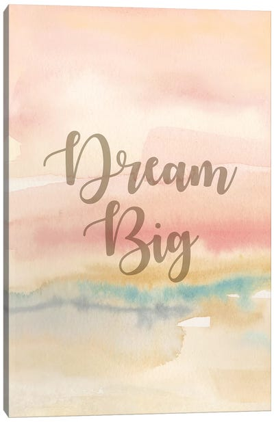 Dream Big Panel I Canvas Art Print