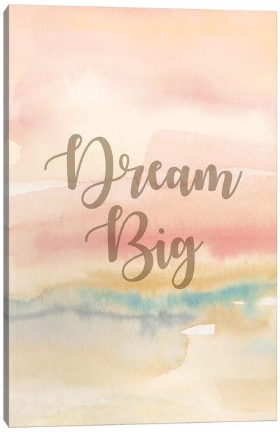 Dream Big Panel I Canvas Art Print