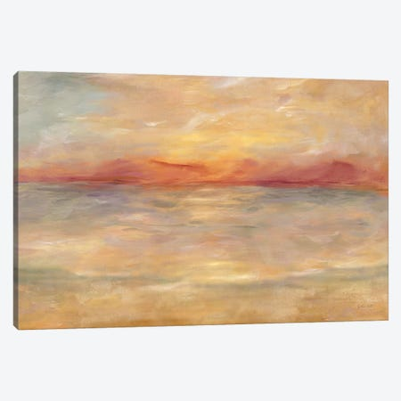 Sunrise Reflections Landscape Canvas Print #CYN243} by Cynthia Coulter Canvas Art Print