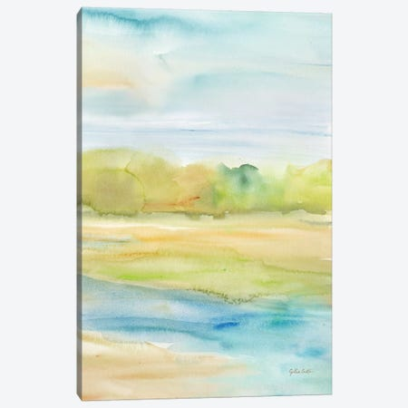 Watercolor Landscape Canvas Print #CYN249} by Cynthia Coulter Canvas Art Print