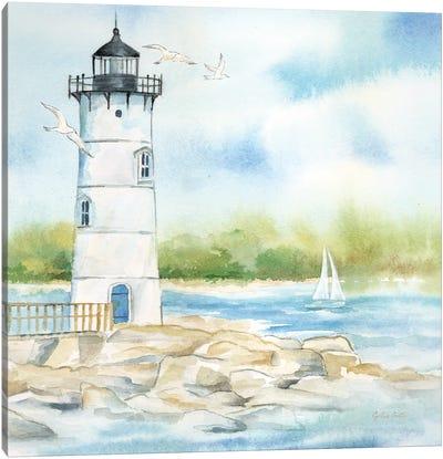 East Coast Lighthouse I Canvas Art Print