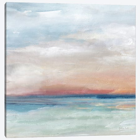 Serene Scene Bright I Canvas Print #CYN267} by Cynthia Coulter Canvas Art
