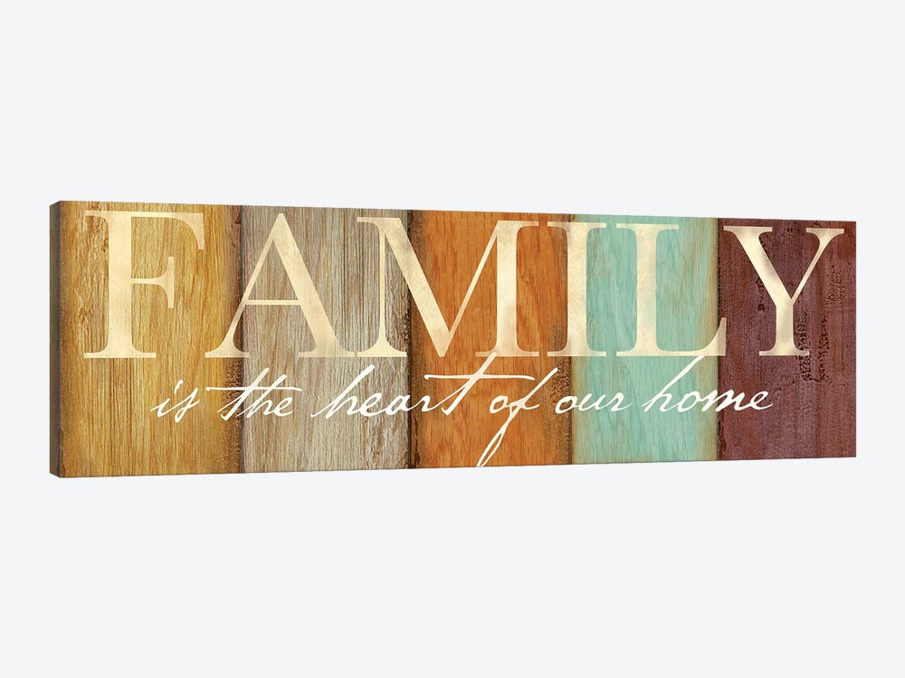 Family Sentiment Sign I Spice by Cynthia Coulter 1-piece Canvas Art