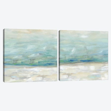 Skyline Diptych Canvas Print Set #CYN2HSET005} by Cynthia Coulter Canvas Art Print