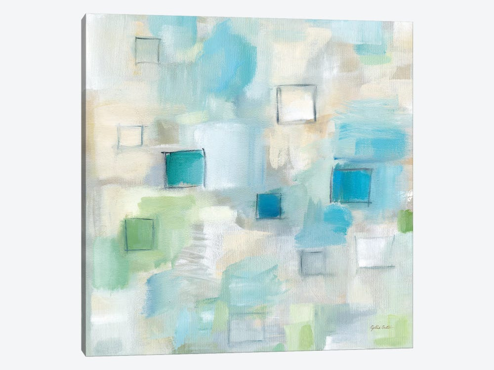 Grid Ensemble I by Cynthia Coulter 1-piece Canvas Artwork