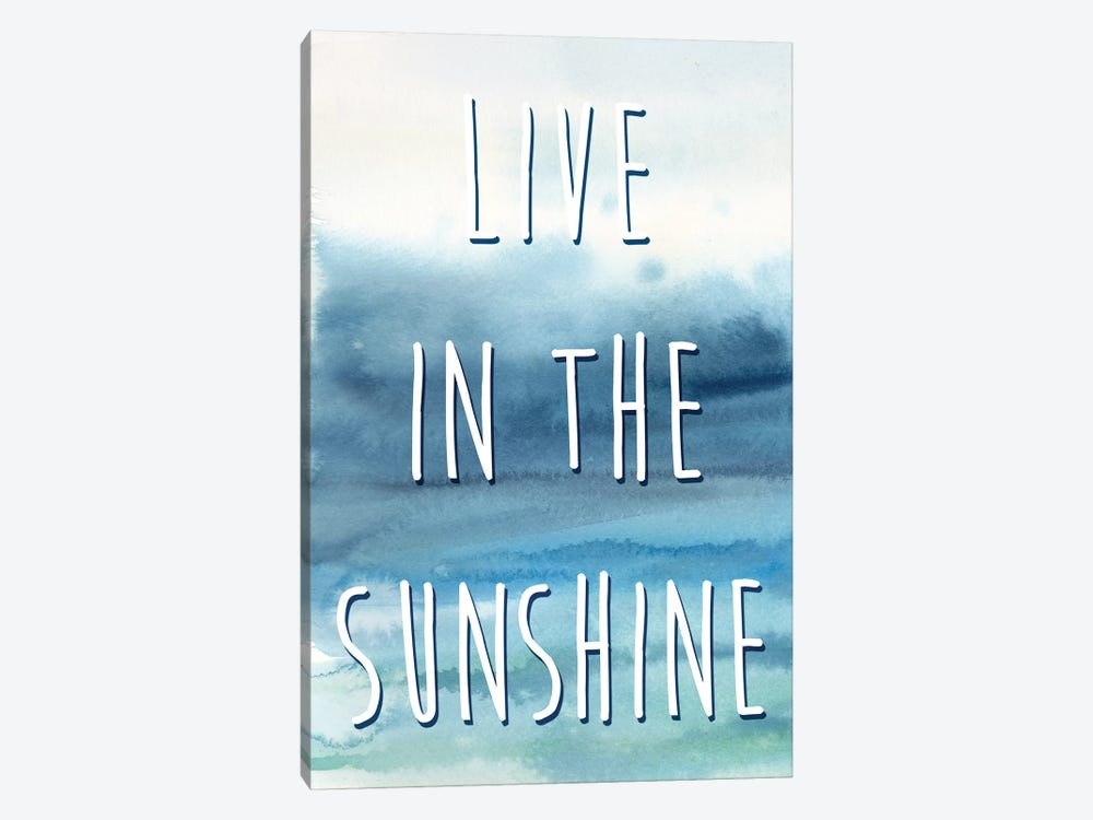 Live In The Sunshine Panel I by Cynthia Coulter 1-piece Art Print