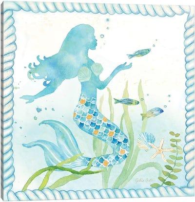 Mermaid Dreams III Canvas Art Print