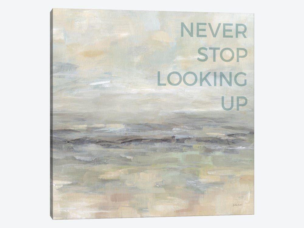 Never Stop Looking Up by Cynthia Coulter 1-piece Canvas Print