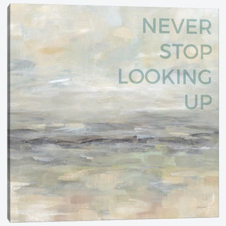 Never Stop Looking Up Canvas Print #CYN51} by Cynthia Coulter Canvas Print