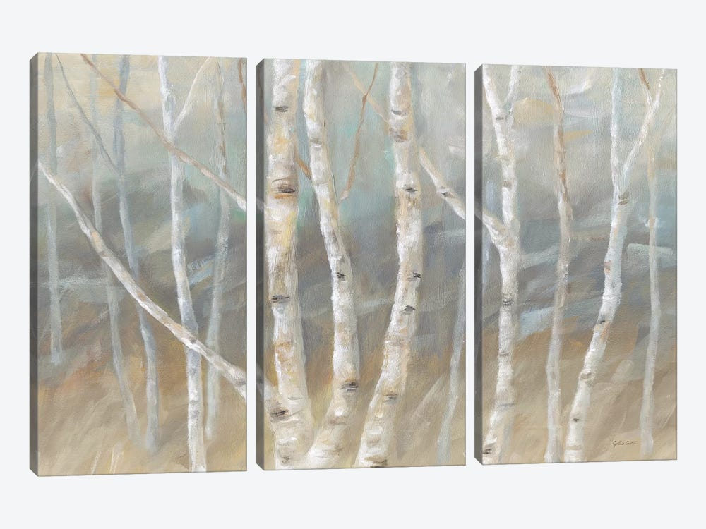 Silver Birch Landscape by Cynthia Coulter 3-piece Art Print