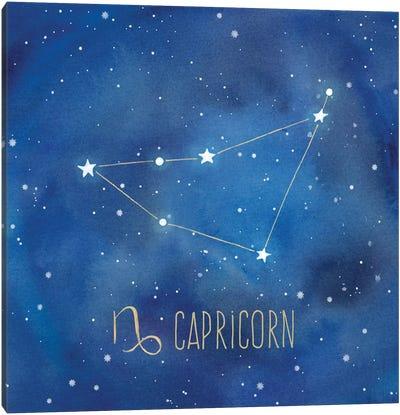 Star Sign Capricorn Canvas Art Print
