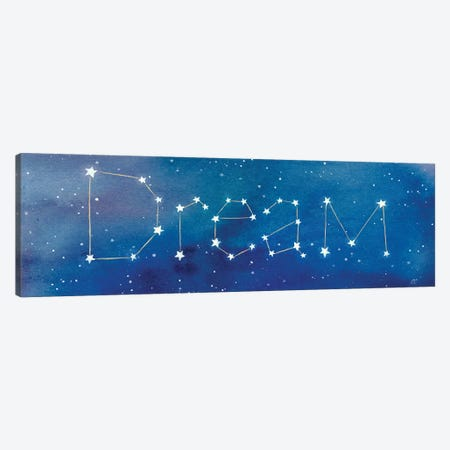 Star Sign Dream Canvas Print #CYN80} by Cynthia Coulter Canvas Wall Art