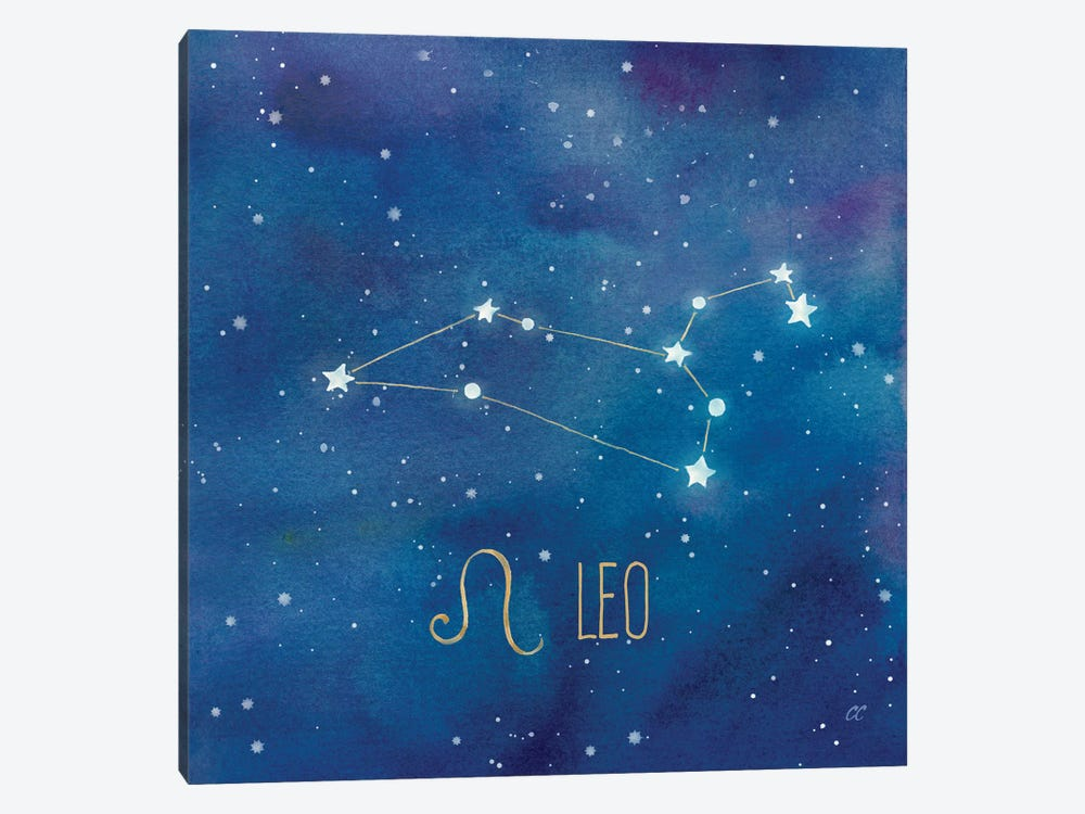 Star Sign Leo by Cynthia Coulter 1-piece Canvas Art Print