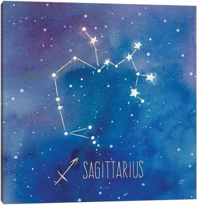 Star Sign Sagittarius Canvas Art Print