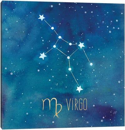 Star Sign Virgo Canvas Art Print