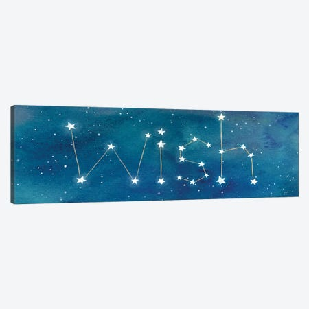 Star Sign Wish 3-Piece Canvas #CYN92} by Cynthia Coulter Art Print