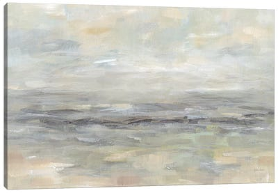 Stormy Grey Landscape Canvas Art Print