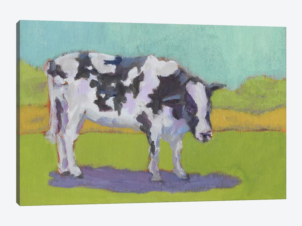 Pasture Cow I by Carol Young 1-piece Canvas Art Print