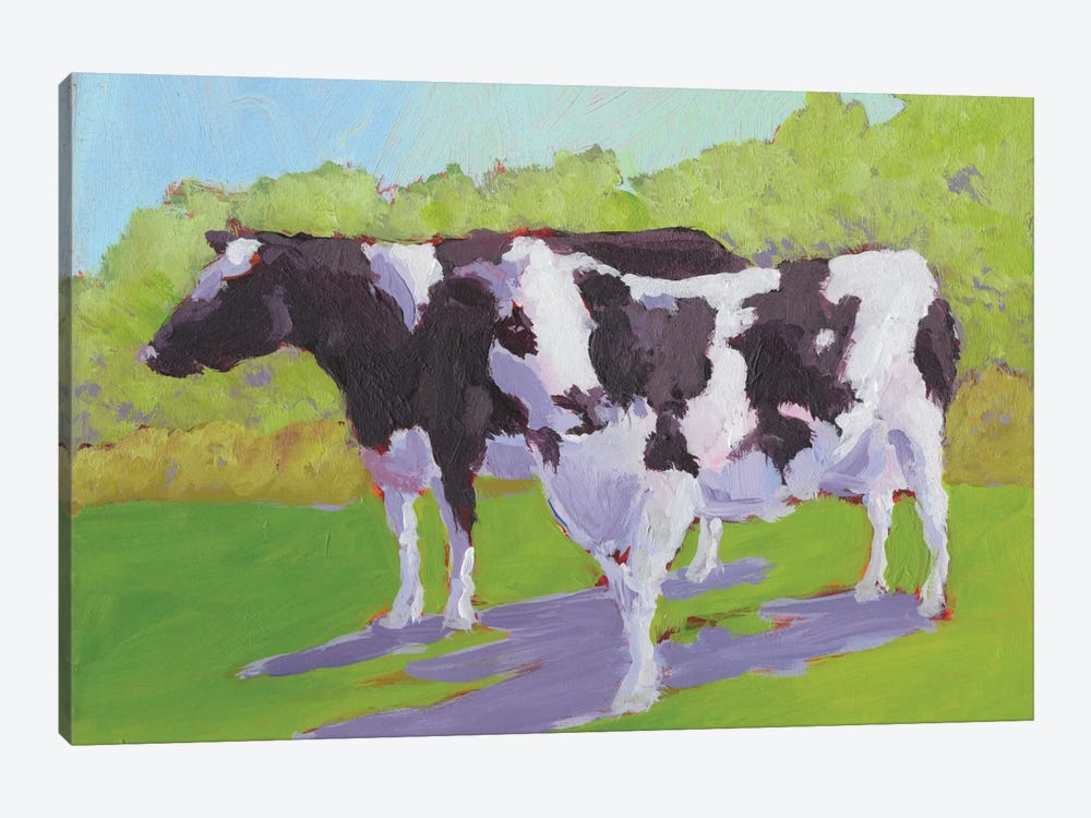 Pasture Cows II by Carol Young 1-piece Canvas Art