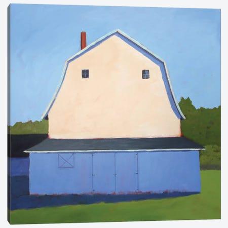 Primary Barns II Canvas Print #CYO24} by Carol Young Canvas Wall Art