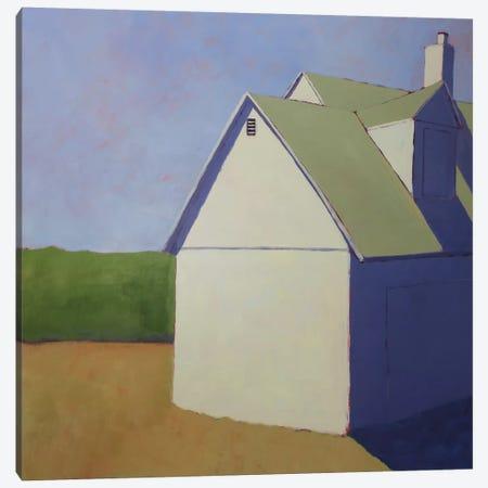 Primary Barns III Canvas Print #CYO25} by Carol Young Canvas Wall Art