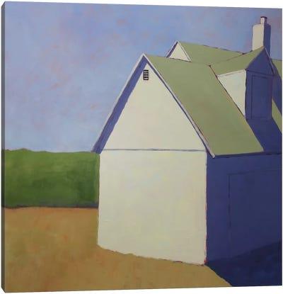 Primary Barns III Canvas Art Print