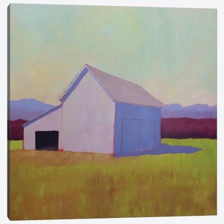 Primary Barns IV Canvas Print #CYO26} by Carol Young Canvas Artwork