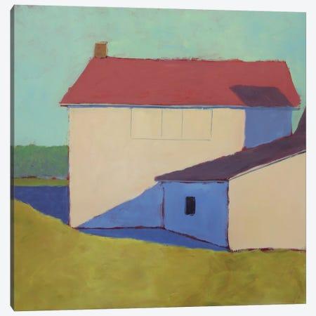 Primary Barns VII Canvas Print #CYO29} by Carol Young Canvas Art Print