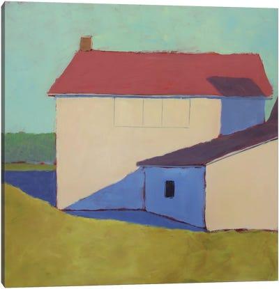 Primary Barns VII Canvas Art Print
