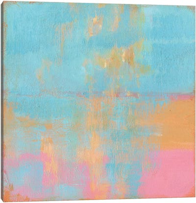 Day Glow Pastel I Canvas Art Print