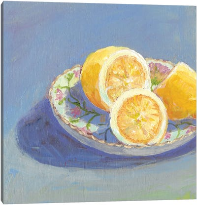 Still Citrus I Canvas Art Print