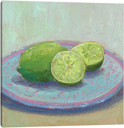 Still Citrus II Canvas Art Print