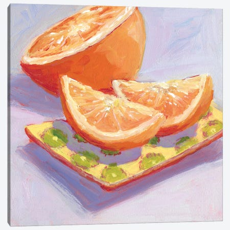 Still Citrus III Canvas Print #CYO47} by Carol Young Canvas Artwork