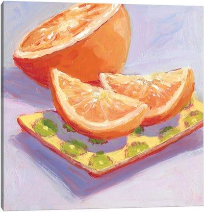 Still Citrus III Canvas Art Print