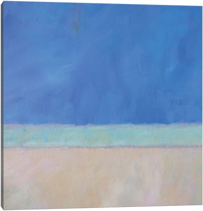 Wintergreen Sea I Canvas Art Print