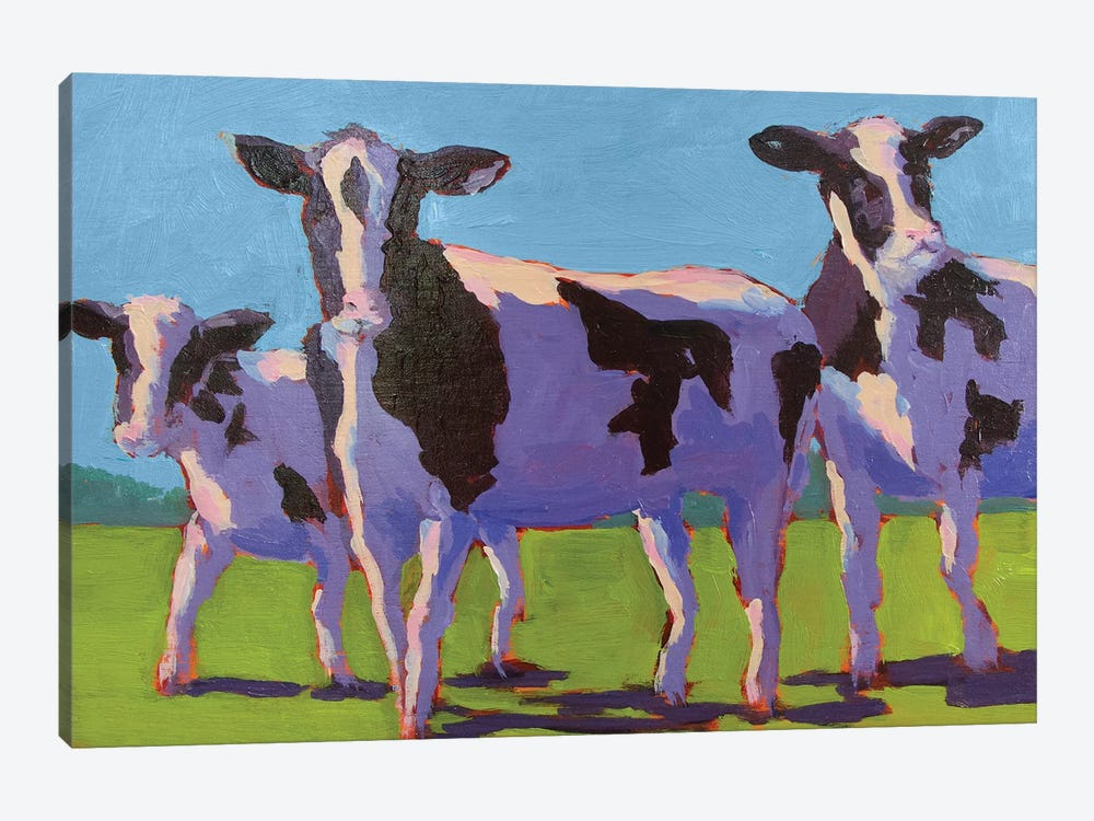 Cow Pals IV by Carol Young 1-piece Art Print