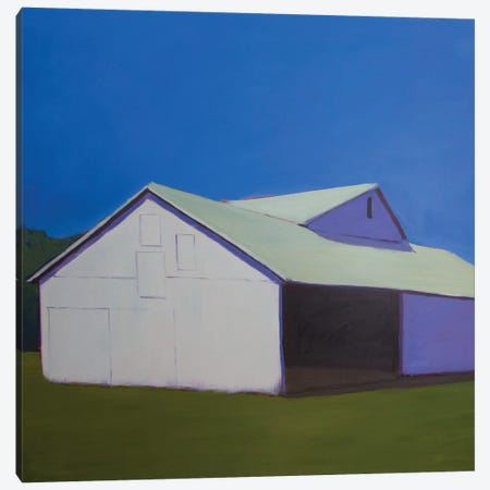 Lonely Barn Canvas Print #CYO5} by Carol Young Canvas Art