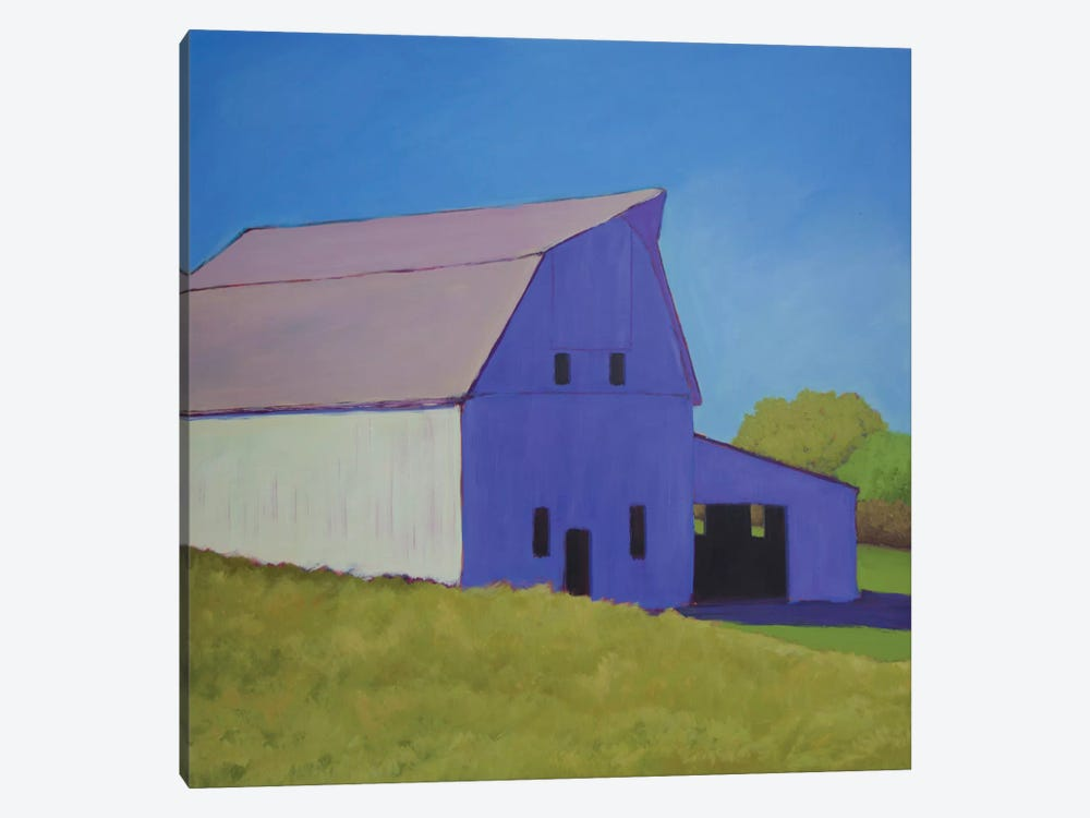 Over The Hill by Carol Young 1-piece Canvas Print