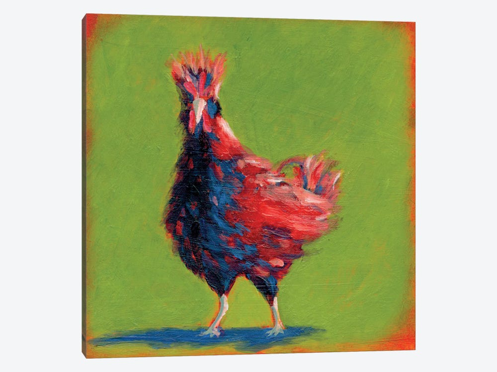 Proud Red I by Carol Young 1-piece Canvas Artwork