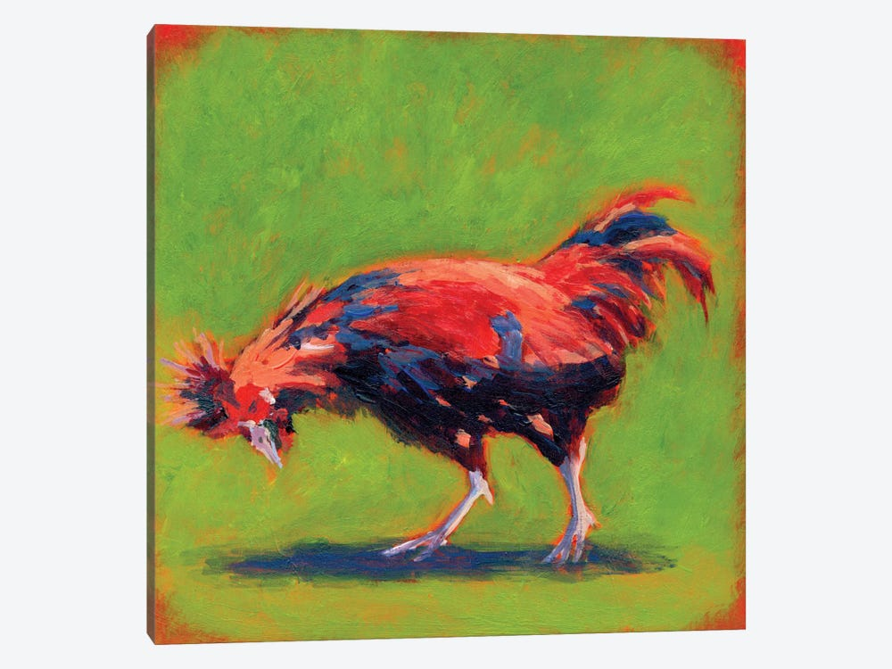 Proud Red II by Carol Young 1-piece Canvas Print