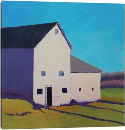 Purple Shade Canvas Art Print
