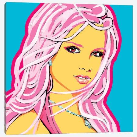 Britney Canvas Print #CYP10} by Corey Plumlee Art Print