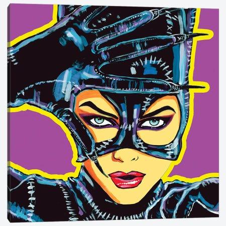 Catwoman Canvas Print #CYP11} by Corey Plumlee Art Print