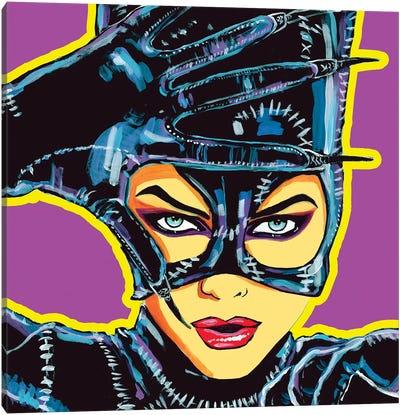 Catwoman Canvas Art Print